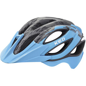 KED Paganini Visor Helmet blue black matt